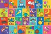 Alphabet Kids' Floor Puzzle (24 Pieces)