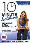 10 Minute Solution: Fitness Ball Workouts, Directed by Andrea Ambandos, with Kimberly Spreen 2009 (DVD)