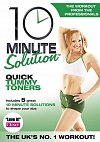 10 Minute Solution: Quick Tummy Toners, Directed by Andrea Ambandos, with Jessica Smith 2009 (DVD)