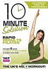 10 Minute Solution: Rapid Results Pilates, Directed by Andrea Ambandos, with Lara Hudson 2009 (DVD)