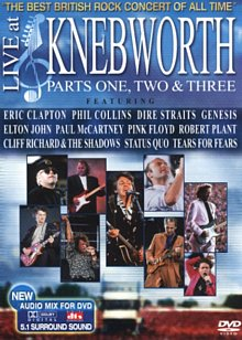 Locul 1: Live at Knebworth: Parts 1, 2 and 3 (DVD / DTS Version)